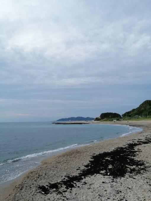 キャンプマナビス海サイト浜