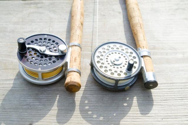 釣竿とリール